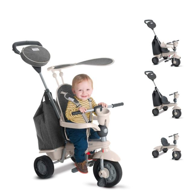 Smart Trike Voyager,5in1,gri