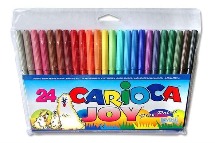Markere pt copii,24b/s,amb.pl,CariocaJoy