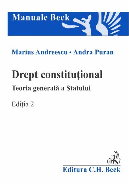 DREPT CONSTITUTIONAL TEORIA...