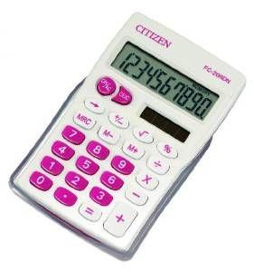 Calculator de birou Citizen 10dig FC20RDN