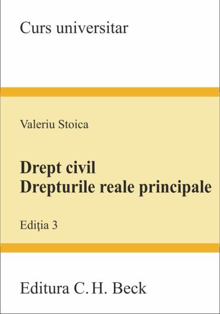 DREPT CIVIL DREPTURILE REALE...