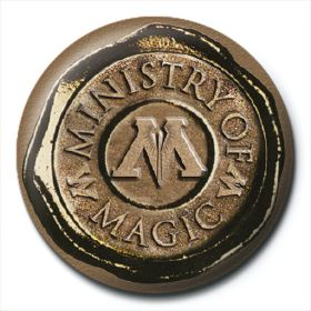 INSIGNA 'HARRY POTTER (MINISTRY OF MAGIC SEAL)'