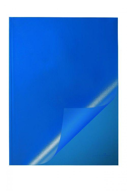 Coperta caiet A4,albastra