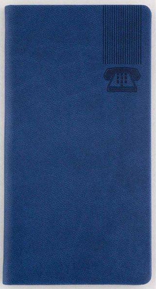 Agenda telefonica Kent,50p,albastru