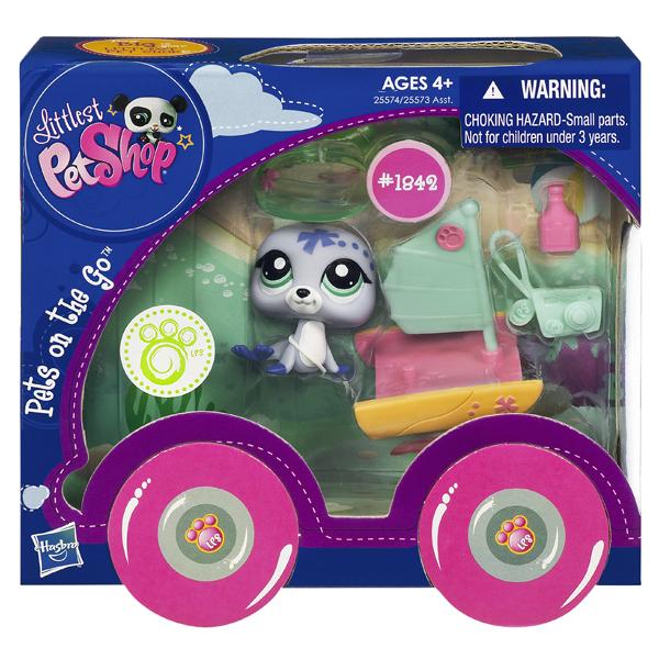 LPS Set figurina si vehicul