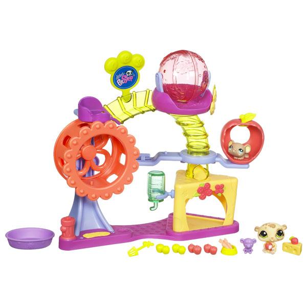 LPS Set Loc de joaca - hamsteri