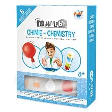 Mini Laborator de chimie,kit 6 experimente,Buki,+8Y