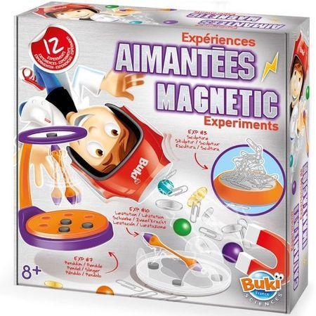 Experimente Magnetice,Sciences,kit 12 experimente,Buki,+8Y