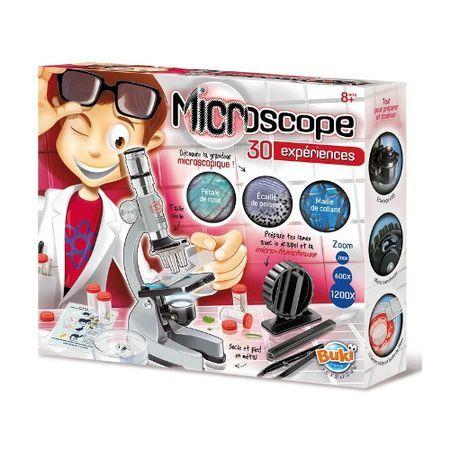 Microscop,Sciences,kit 30 experimente,Buki,+8Y