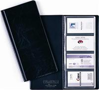 Visifix, clasor carti viz., 253x115 mm, negru