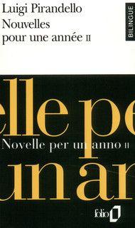 Nouvelles Pour Une Annee I Novelle Per Un Anno I, ***