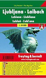 Ljublijana, Pocket Map, 1:20.000, ***