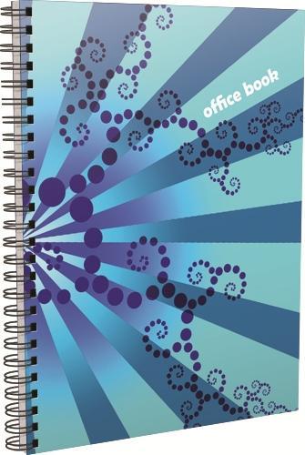 Caiet cu spira, A4, Trendy Office, 70 file, matematica