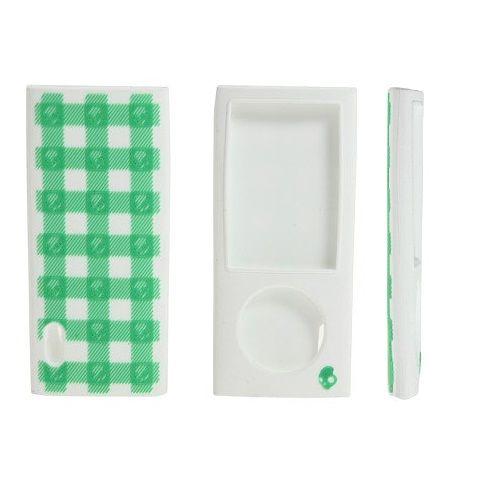 Carcasa iPod Nano Skull Candy Silicon Green
