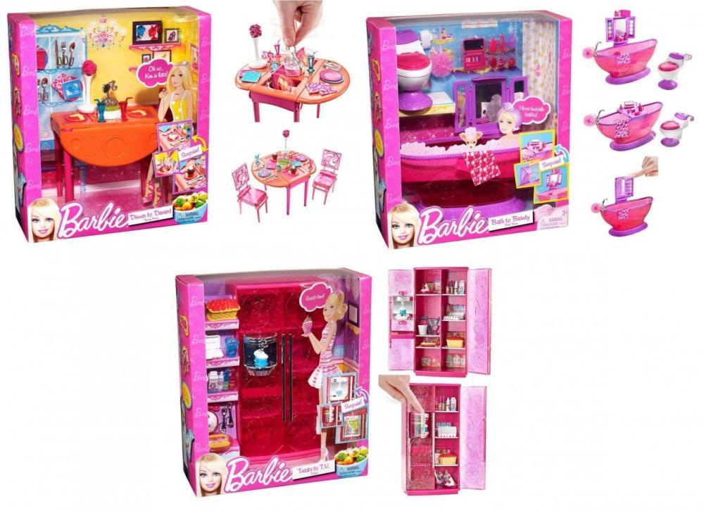 zzSet mobilier Barbie, div. modele
