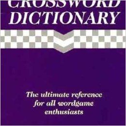 Crossword Dictionary*The Ultimate Reference Wordga, ***