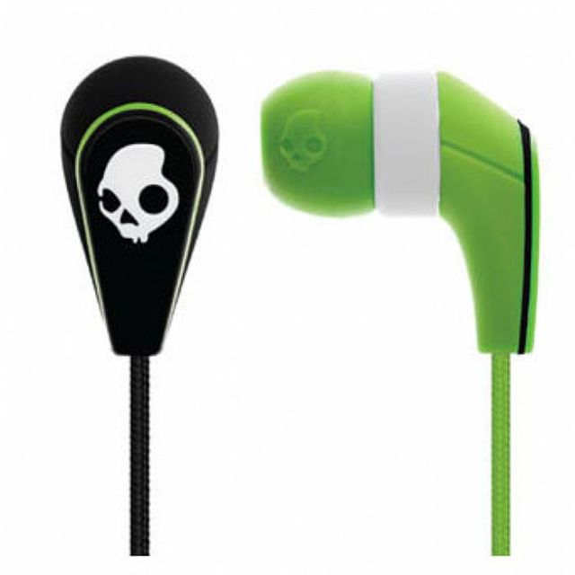 Casti Skull Candy 50/50 BLACK GREEN