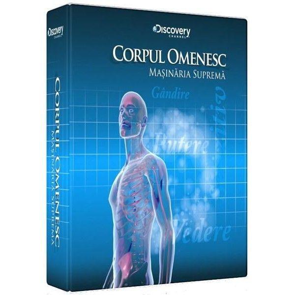 CORPUL OMENESC-MASINARIA SUPREMA BOX 4DVD