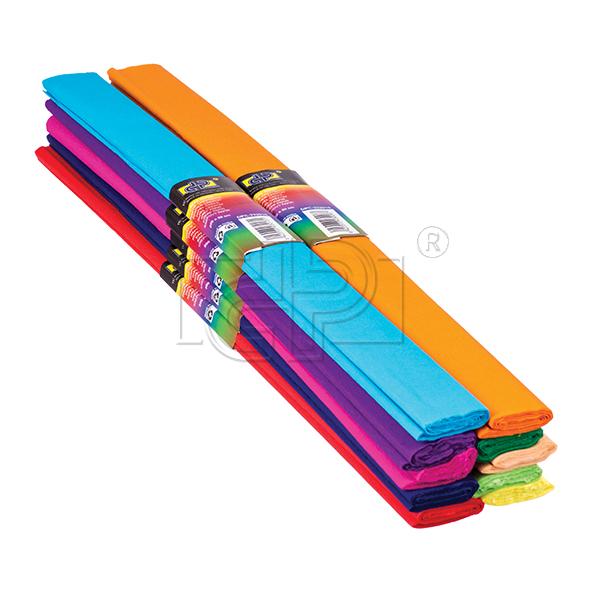 Hartie creponata,10coli/set,diverse culori