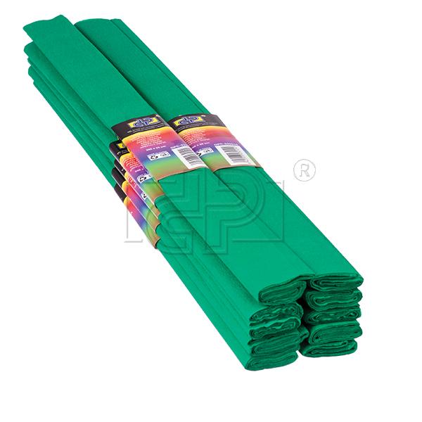 Hartie creponata,50x200cm,verde,DP