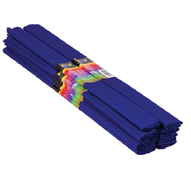 Hartie creponata,50x200cm,albastru,DP