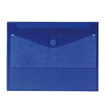 Mapa PP,Herlitz, capsa,bz CD,albastru