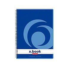 Caiet cu spira X.book,A5,80 file,dictan.