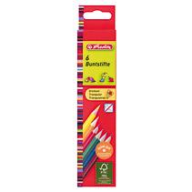Creioane colorate,6b/set,triung,Herlitz