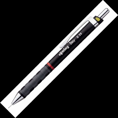 Creion mecanic Rotring Tikky 0,35mm,burgundy