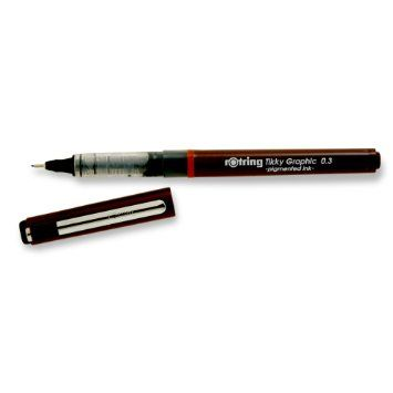 Liner Rotring Tikky free-ink,0.3mm,negru
