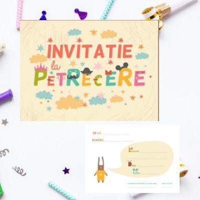 Invitatii de petrecere111120b/set