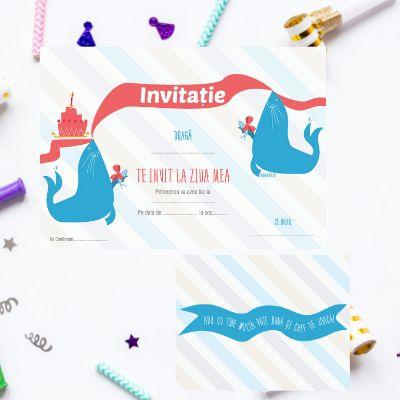 Invitatii de petrecere111520b/set