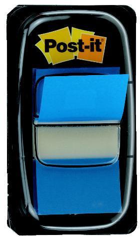 Post-it (R) index albastru, 50 foite