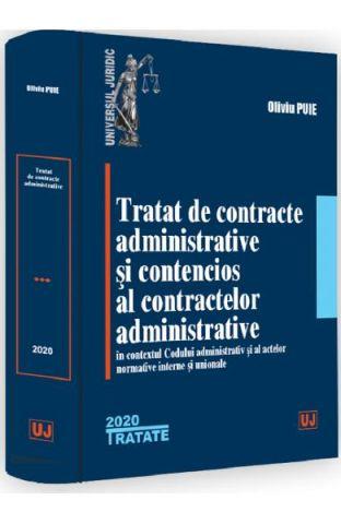 TRATAT DE CONTRACTE ADMINISTRATIVE SI CONTENCIOS AL CONTRACTELOR ADMINISTRATIVE