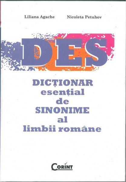DICTIONAR ESENTIAL DE SINONIME AL LIMBII