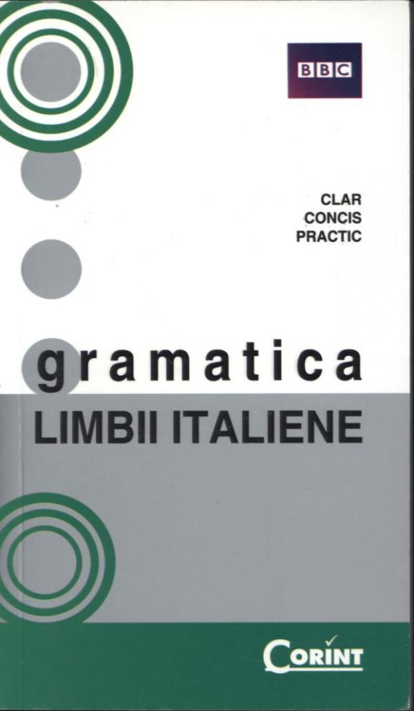 GRAMATICA LIMBII ITALIENE BBC