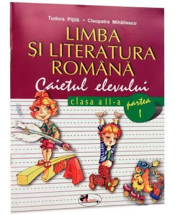 Romana -Caiet clasa a II-a semestrul I