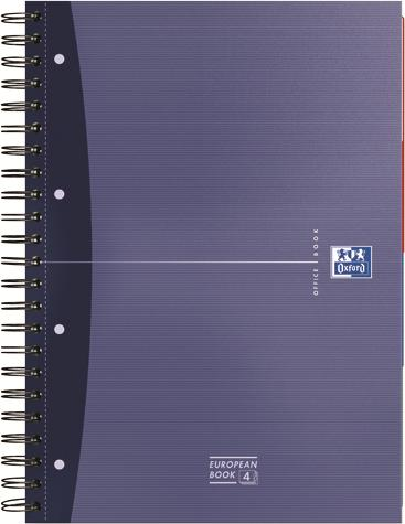 Caiet Oxford EUROPEAN BOOK,A4,100coli,mat