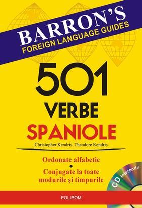 501 VERBE SPANIOLE (VO LUMUL CONTINE CD)