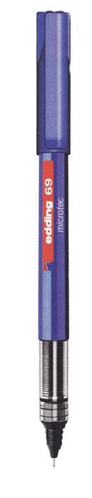 Roller Edding Microtec albastru, 0.3 mm