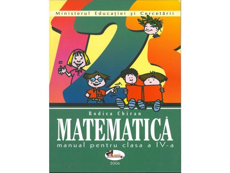 Matematica IV. Manual Chiran, ***