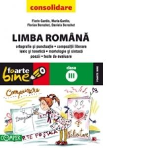 Lb. Romana Cl.III, Ed. 10/2009, Florian, Florin Berechet, Gardin