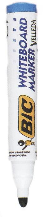 Marker pt. tabla Bic Velleda, 2.5mm,albastru