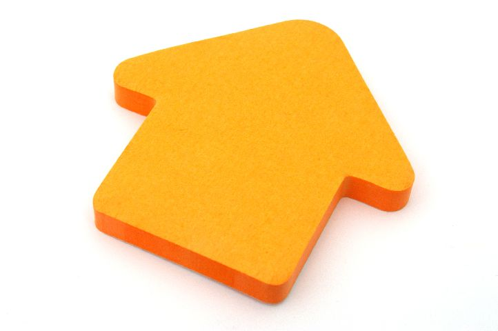 Notes neon orange Sageata,100 file