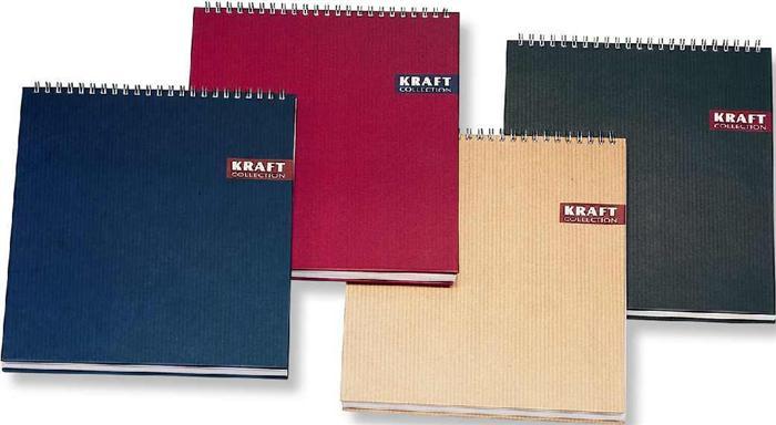 Bloc notes LeColor Kraf A4,80 file,mate