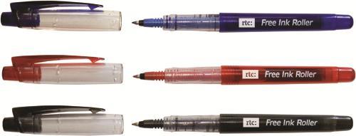Roller free ink, albastru