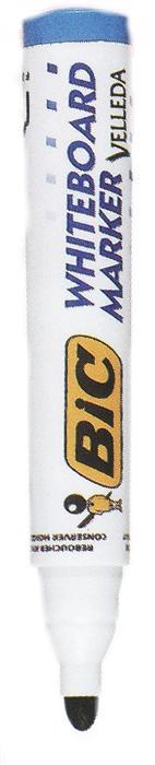 Marker pt. tabla Bic Velleda, 2.5mm, rosu
