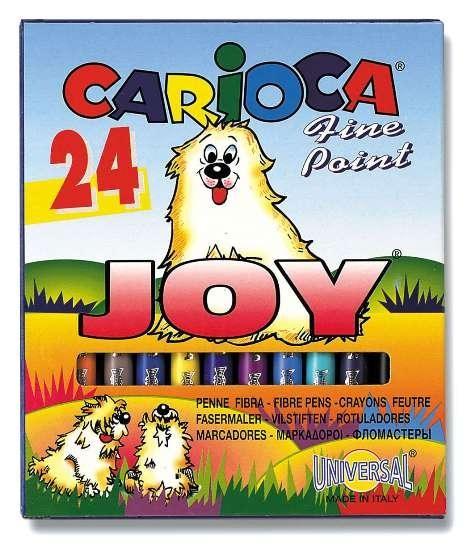 Markere pt copii,24b/s,amb.car,CariocaJoy