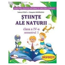Stiinte ,  Caiet Sem. 1+2 IV Pitila, ***