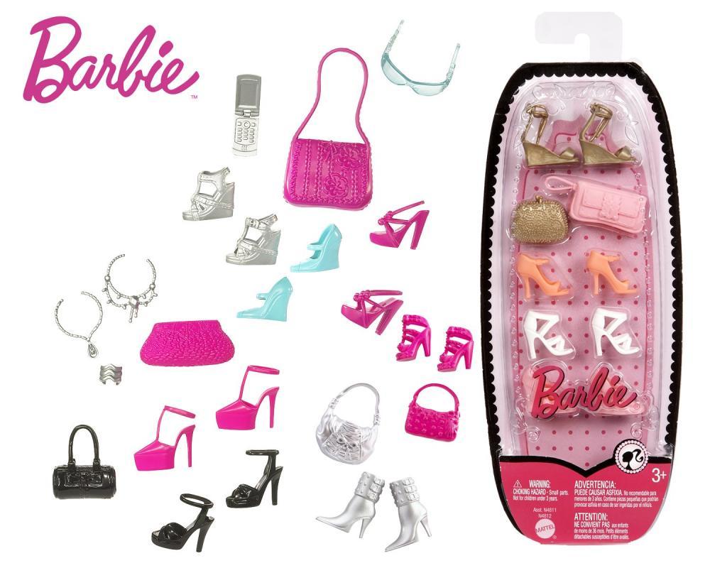 zzAccesorii papusi Barbie, diverse modele